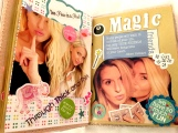 Scrapbook- Simple yet great way to display precious memories with someone.